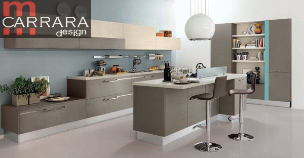 Centro cucine componibili moderne classiche contemporanee a trapani - Cucine moderne con isola lube ...